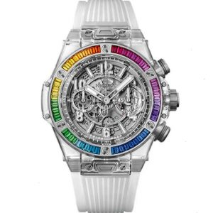 Replica Hublot Big Bang Unico Sapphire Rainbow 411.JX.4803.RT.4099