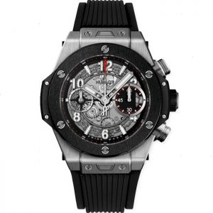 Replica Hublot Big Bang Unico Titanium Ceramic 42MM Watch 441.NM.1123.RX