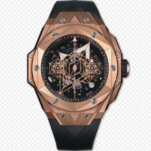 Replica Hublot Big Bang Unico Sang Bleu ll King Gold Watch 418.OX.1108.RX.MXM19