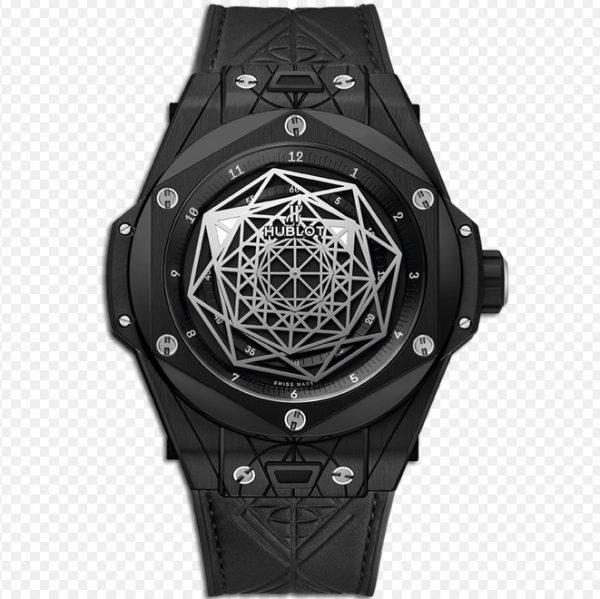 Hublot Big Bang Unico Sang Bleu Black Magic Watch 415.CX.1112.VR.MXM18