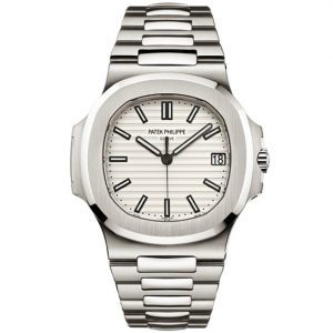 Replica Patek Philippe Nautilus Steel White 5711/1A-011 Watch