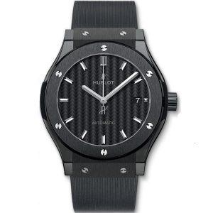 Replica Hublot Classic Fusion Blue Titanium Watch 511.NX.7170.LR
