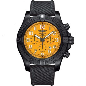 Replica Breitling Avenger Hurricane 12h Yellow Dial Watch XB0170E4.I533.282S.X20D.4