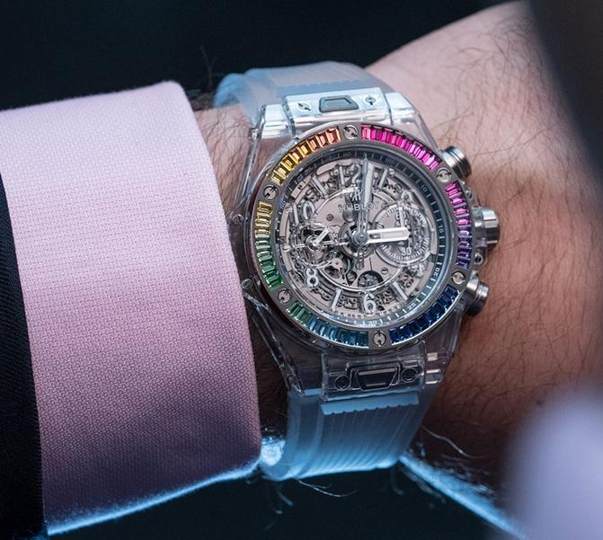 Best Replica Watch – Hublot Big Bang Unico Sapphire Rainbow