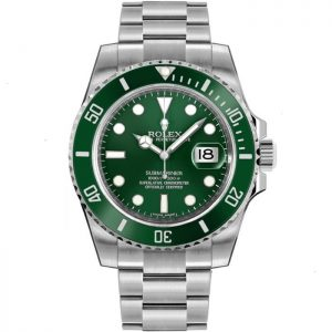 Replica Rolex Submariner Hulk Green Dial 116610LV Watch