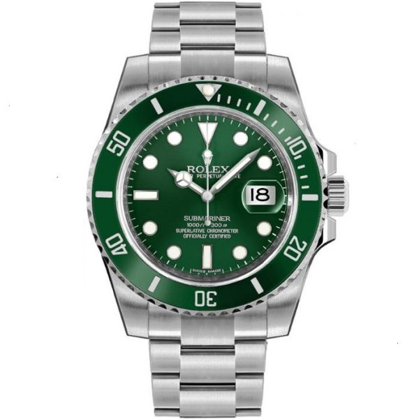 Rolex Submariner Hulk Green Dial 116610LV Watch