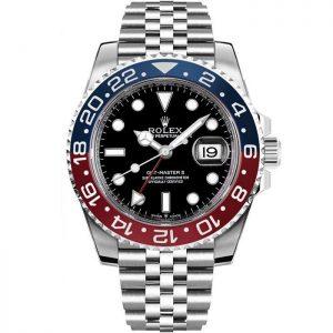 Replica Rolex GMT-Master II Pepsi Jubilee Watch 126710BLRO