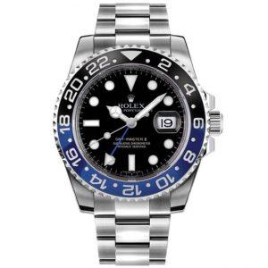Replica Rolex GMT-Master II Batman Watch 116710BLNR