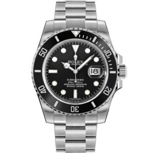 Replica Rolex Submariner Date Black Dial 116610LN Watch