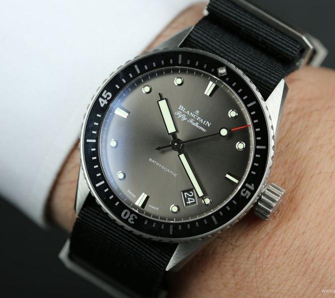 Blancpain Fifty Fathoms Bathyscaphe Watch 5100B-1110-B52A
