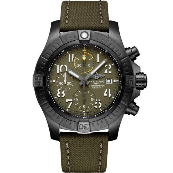 Breitling Avenger Chronograph Night Mission Watch V13317101L1X1