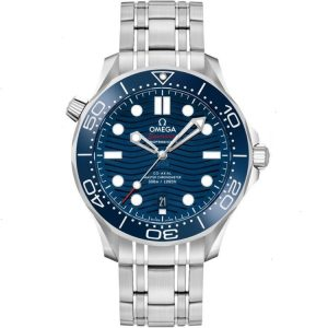 Replica Omega Seamaster Diver 300m Blue 42mm 210.30.42.20.03.001 Watch