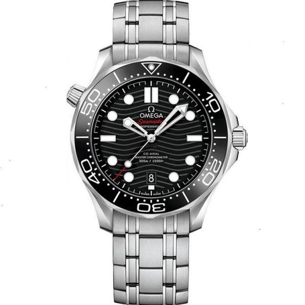 Omega Seamaster Diver 300m Black 42mm 210.30.42.20.01.001 Watch