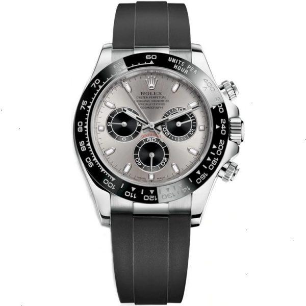 Rolex Daytona White Gold Oysterflex 116519LN Watch