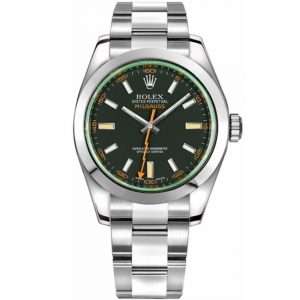 Replica Rolex Milgauss 116400GV Black Dial Watch