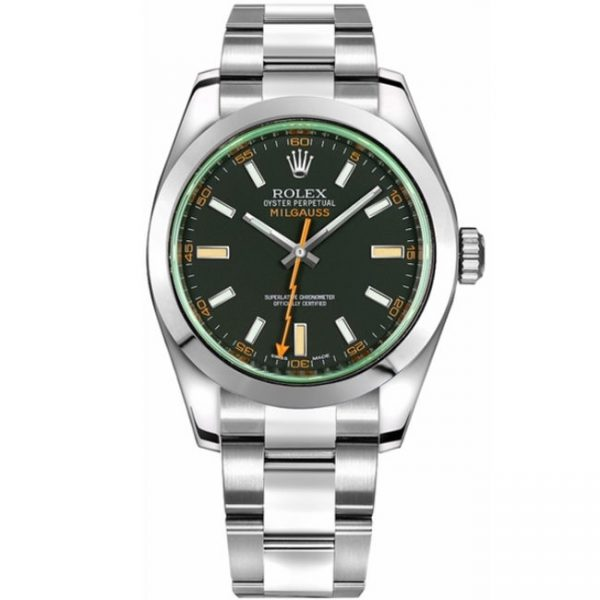 Rolex Milgauss 116400GV Black Dial Watch