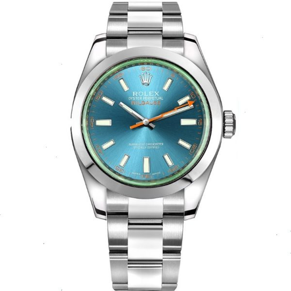 Rolex Milgauss Z-Blue Dial 116400GV Watch