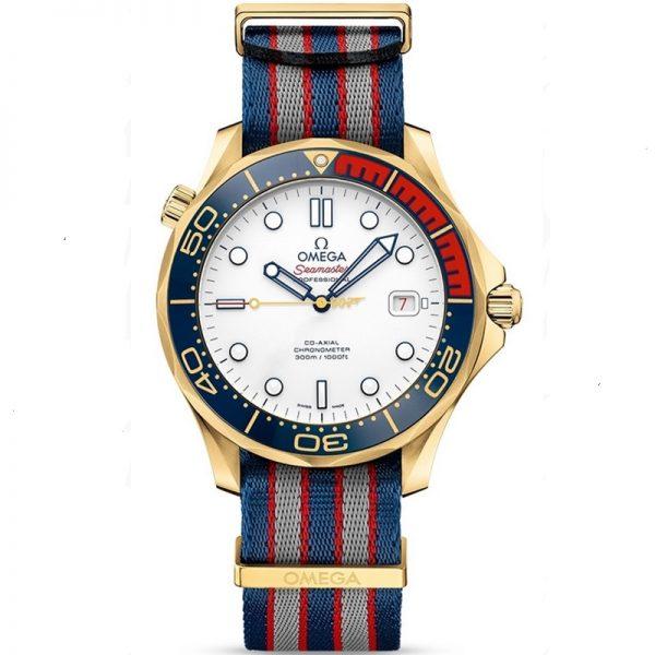Omega Seamaster 300M Commander James Bond 212.62.41.20.04.001 Watch