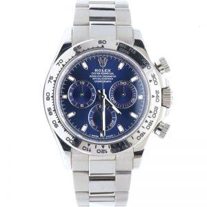 Replica Rolex Daytona Blue Dial 116509 Watch