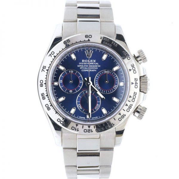 Rolex Daytona Blue Dial 116509 Watch