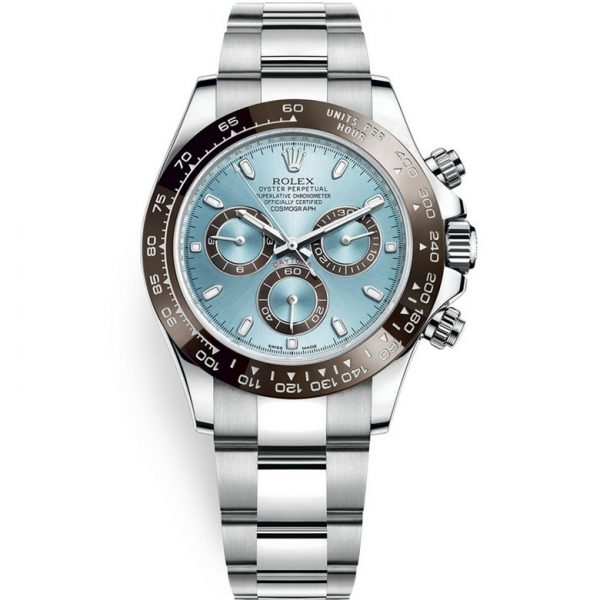 Rolex Daytona Ice Blue Dial Platinum 116506 Watch