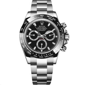 Replica Rolex Daytona Black Dial 116500LN Watch