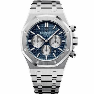 Replica Audemars Piguet Royal Oak Chronograph Blue Dial 26331ST.OO.1220ST.01 Watch