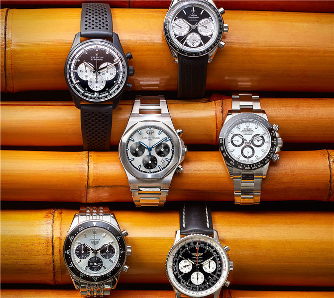 Men's Favorite Panda Dial Watches