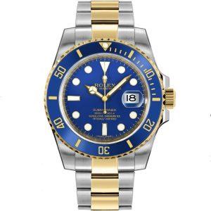 Replica Rolex Submariner Date Blue Dial 116613LB Watch