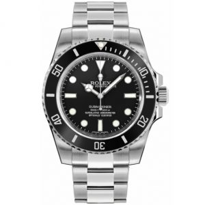 Replica Rolex Submariner No Date Black 114060 Watch