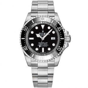 Replica Rolex Sea Dweller Deepsea Black Dial 116660 Watch