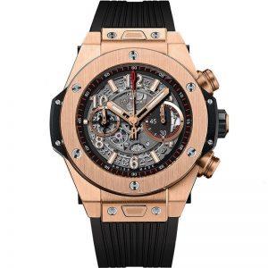 Replica Hublot Big Bang Unico Rose Gold 45mm Watch 411.OX.1180.RX