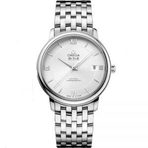 Replica Omega De Ville Prestige Silver Dial Watch 424.10.37.20.02.001
