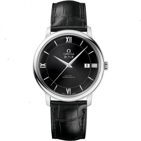 Omega De Ville Prestige Black Dial Watch 424.13.40.20.01.001