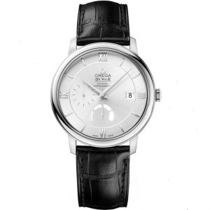 Replica Omega De Ville Prestige Power Reserve Silver Dial Watch 424.13.40.21.02.001