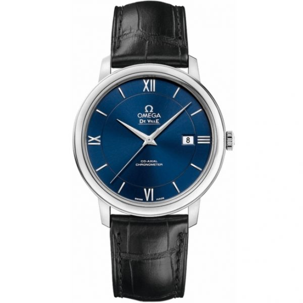 Omega De Ville Prestige Blue Dial Watch 424.13.40.20.03.001