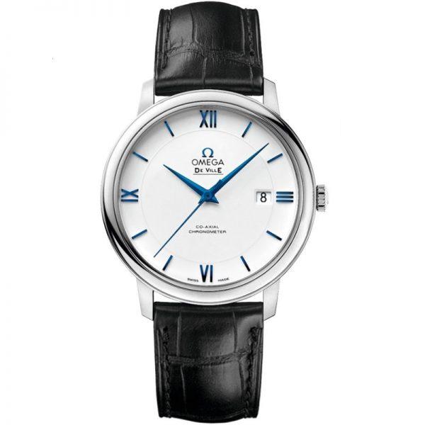 Omega De Ville Prestige White Dial Watch 424.53.40.20.04.001