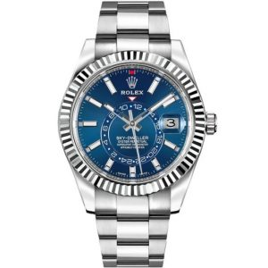 Replica Rolex Sky-Dweller Blue Dial 326934 Watch