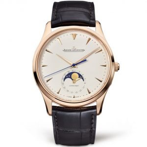 Replica Jaeger-LeCoultre Master Ultra Thin Moon Pink Gold 1362520 Watch