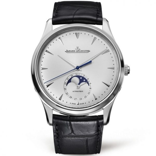 Jaeger-LeCoultre Master Ultra Thin Moon Steel Silver 1368420 Watch