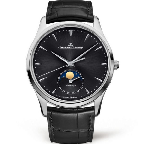 Jaeger-LeCoultre Master Ultra Thin Moon Steel Black 1368470 Watch