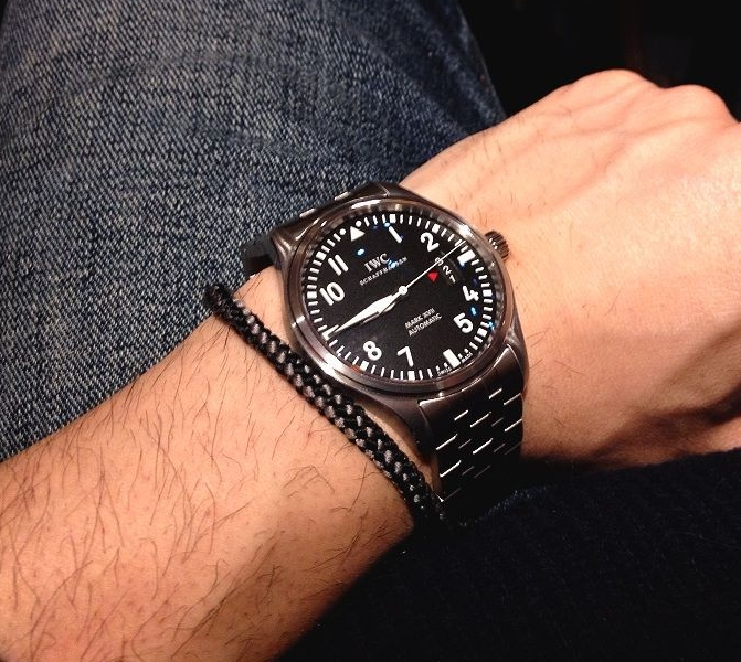 Replica IWC Pilot's Mark XVII Steel IW326504