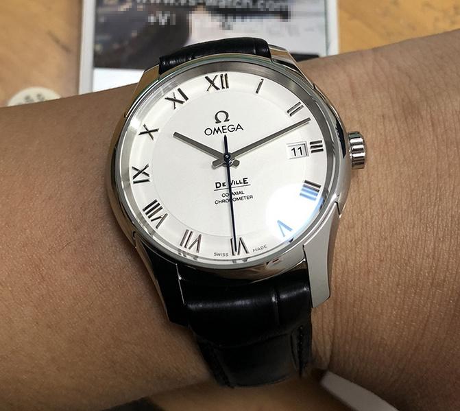 Omega De Ville Co Axial Chronometer Silver Dial 431.13.41.21.02.001