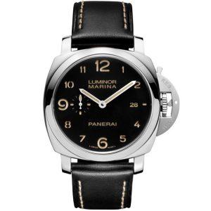 Replica Panerai Luminor 1950 Marina 3 Days 44mm Black Dial PAM00359 Watch