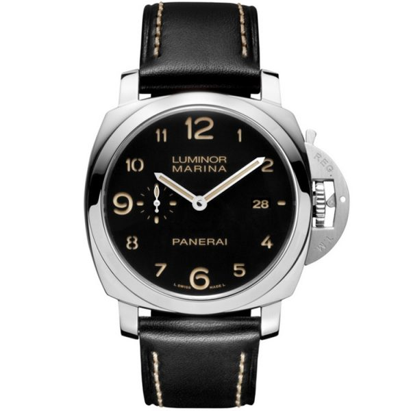 Panerai Luminor 1950 Marina 3 Days 44mm Black Dial PAM00359 Watch