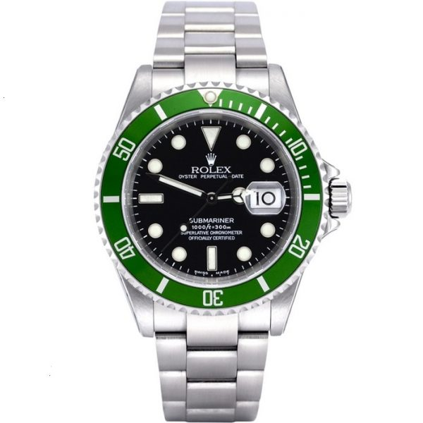 Rolex Submariner Green Bezel 16610LV Watch