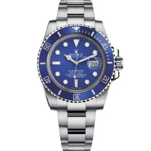 Replica Rolex Submariner Blue Dial 116619LB Watch