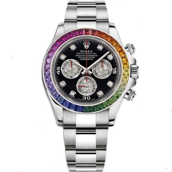Rolex Daytona Chronograph Rainbow Diamond 116599 RBOW Watch
