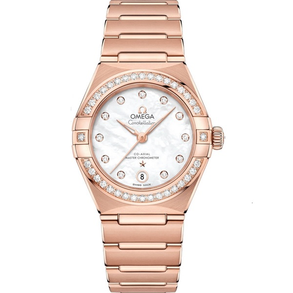 Omega Constellation Manhattan Rose Gold Diamond 131.55.29.20.55.001 Watch