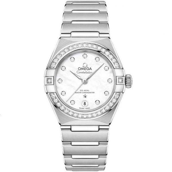 Omega Constellation Manhattan Stainless Steel Diamond 131.15.29.20.55.001 Watch